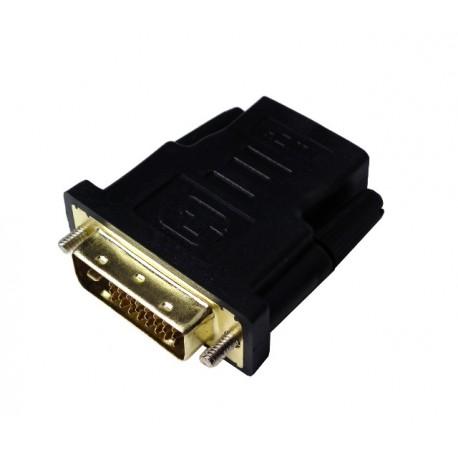adapter HDMI - DVI (F-M)