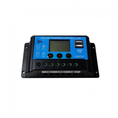 Regulator ładowania LCD PWM 20A 12/24V do paneli słonecznych