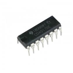 Licznik Dzielnik CD4017 DIP16