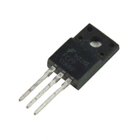 Tranzystor FCPF11N60 TO220F 11A 600V N-Channel